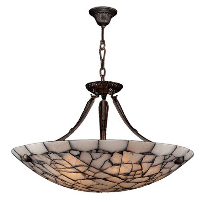 Harwich Contemporary 5-Light Bowl Pendant