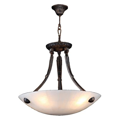 Harwich 4-Light Bowl Pendant