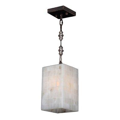 Harwich Contemporary 1-Light Quartz Stone Mini Pendant