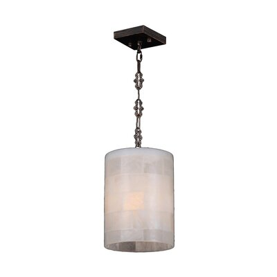 Harwich 1-Light Natural Quartz Mini Pendant