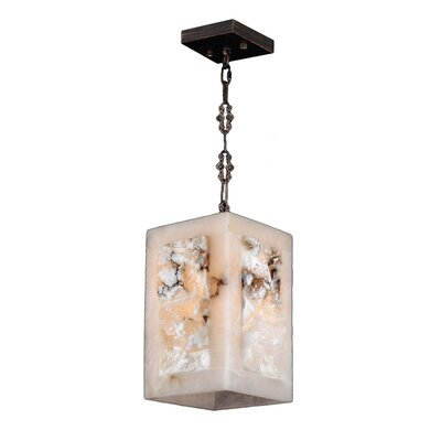 Harwich 1-Light 40W Natural Quartz Mini Pendant