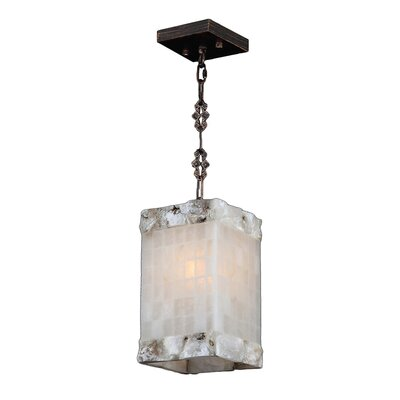 Harwich Contemporary 1-Light Natural Quartz Mini Pendant