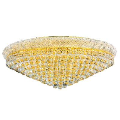 Empire Crystal 20-Light Flush Mount