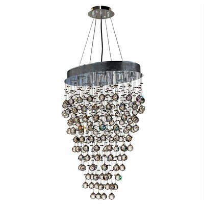 Leiker Glam 8-Light Crystal Chandelier