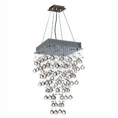 Leiker 5-Light Crystal Chandelier