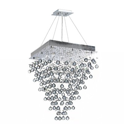 Icicle 8-Light Crystal Chandelier