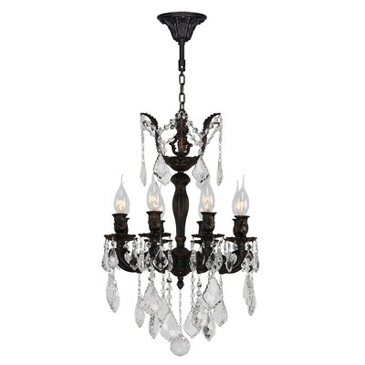 Dodson 8-Light Chain Crystal Chandelier
