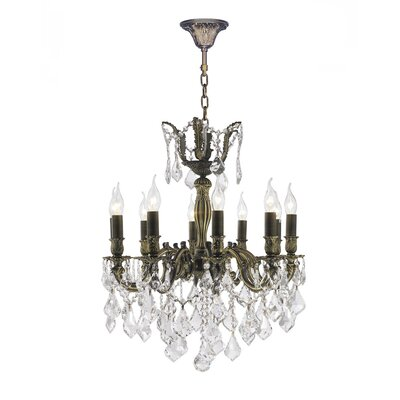 Dodson 10-Light 40W Crystal Chandelier