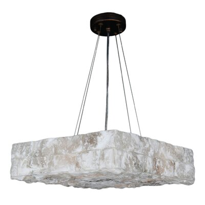 Pompeii 4-Light Geometric Pendant