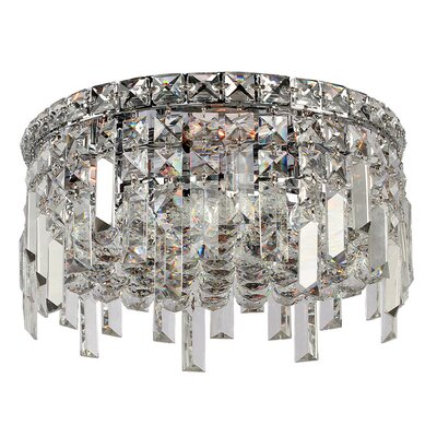 Anjali Handcrafted 4-Light Flush Mount