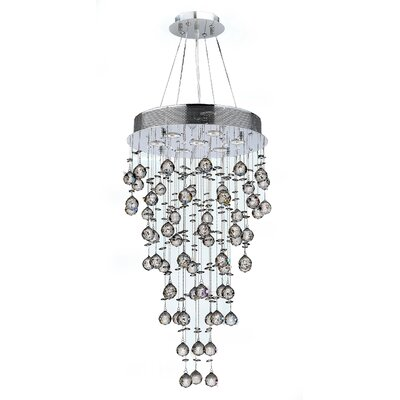 Leiker 7-Light Crystal Chandelier