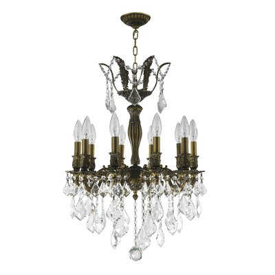 Versailles 10-Light Crystal Chandelier