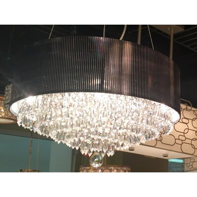 Roni 8-Light Drum Chandelier