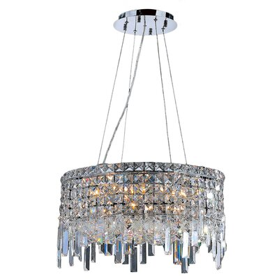 Cascade 12-light Crystal Chandelier