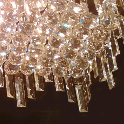 Anjali 4-Light Crystal Chandelier