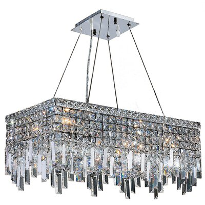 Anjali 6-Light Crystal Chandelier