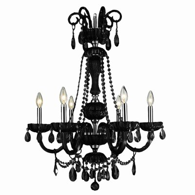 Carbajal 6-Light Candle-Style Chandelier