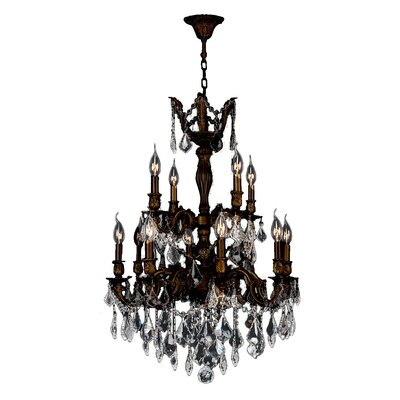 Versailles 12-Light Candle-Style Chandelier