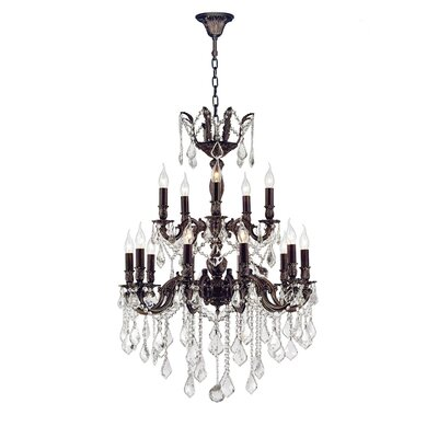 Dodson 18-Light Candle-Style Chandelier