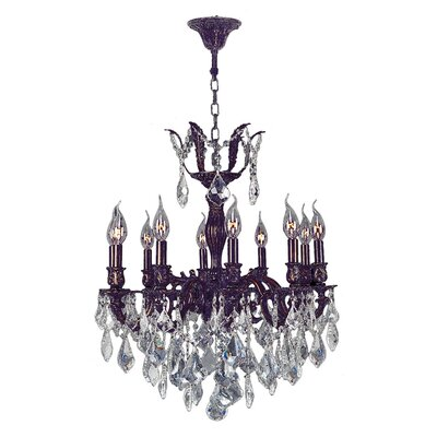 Versailles 10-Light Candle-Style Chandelier