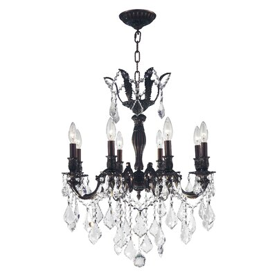 Dodson 8-Light Chain Candle-Style Chandelier