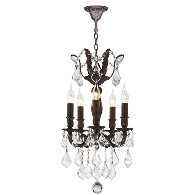 Dodson Traditional 5-Light Candle-Style Chandelier
