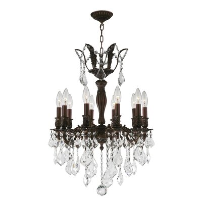Dodson Traditional 10-Light Candle-Style Chandelier