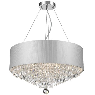 Roni 8-Light Semi Flush Mount