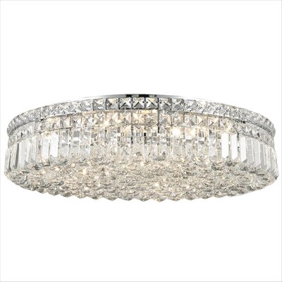 Anjali Glam 9-Light Flush Mount