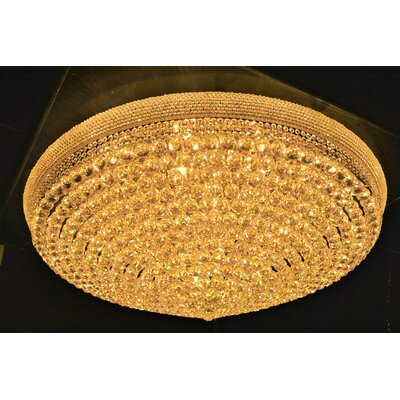 Empire 33-Light Flush Mount Finish: Gold