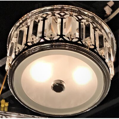 Mei 3-Light Flush Mount
