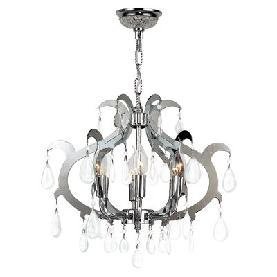 Henna 6-Light Crystal Chandelier