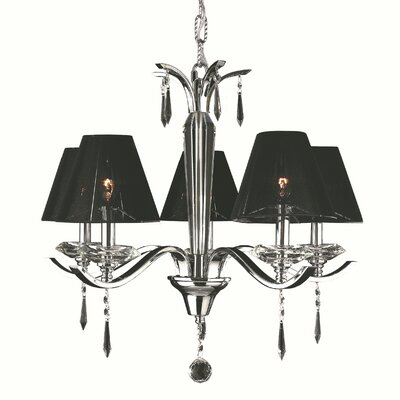 Roni 5-Light Shaded Chandelier