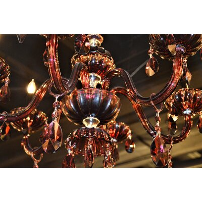 Carbajal Traditional 6-Light Crystal Chandelier
