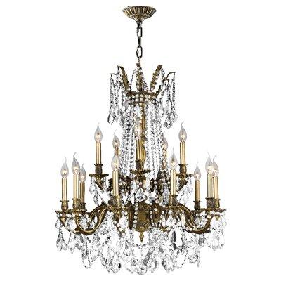 Windsor 15-Light Crystal Chandelier