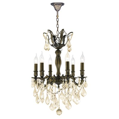 Dodson 6-Light Candle-Style Chandelier