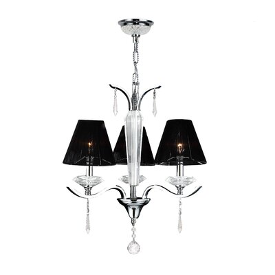 Gastby 3-Light Shaded Chandelier