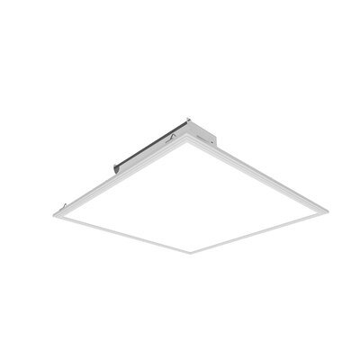 Cosmic LED Semi Flush Mount (Set of 2) Size: 0.4 H x 24 W x 24 D, Bulb Color Temperature: Neutral White - 4000K