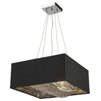 Julewitz Square 8-Light Drum Pendant
