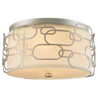 Lilianna 5-Light Flush Mount Fixture Finish: Matte Nickel