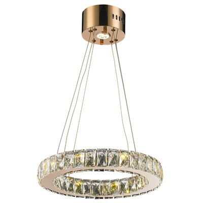 Baldwin 9-Light LED Crystal Pendant