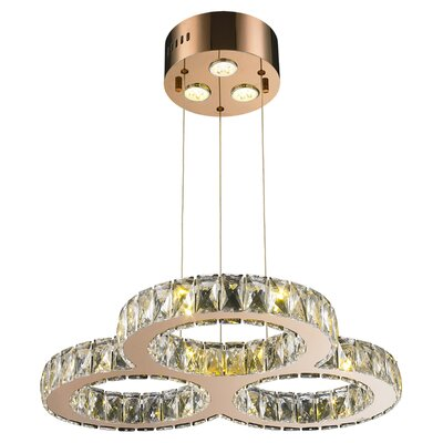 Baldwin 18-Light LED Crystal Pendant