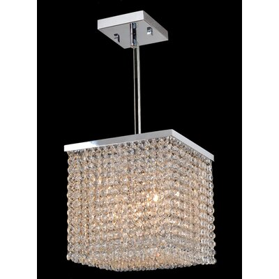 Diep 4-Light Crystal Pendant