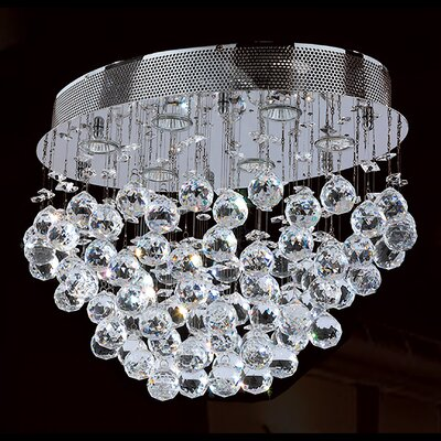 Leiker 6-Light Flush Mount
