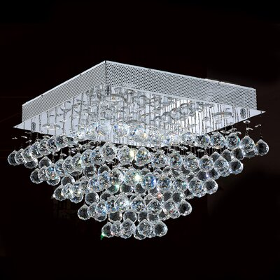 Leiker 5-Light Flush Mount Size: 14 H x 20 W