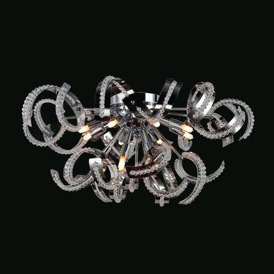 Lagrone 12-Light Flush Mount