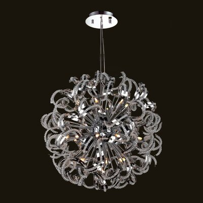 Medusa 25-Light Sputnik Chandelier