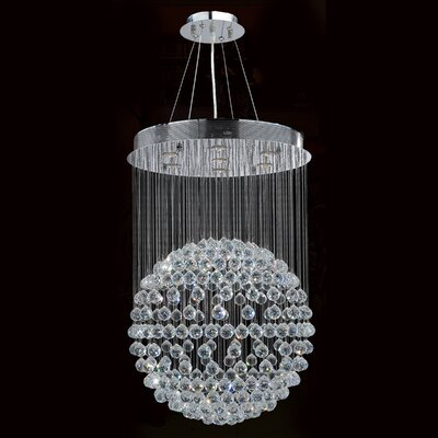 Latrobe Contemporary 7-Light Crystal Chandelier