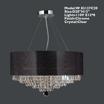Gastby 8-Light Drum Chandelier