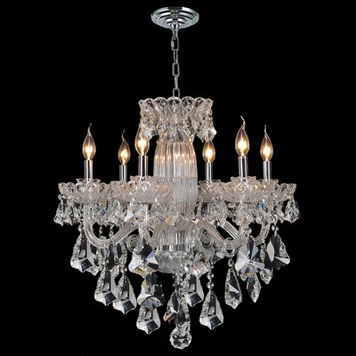 Pulaski 6-Light Crystal Chandelier